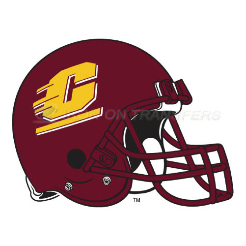 Central Michigan Chippewas logo T-shirts Iron On Transfers N4123